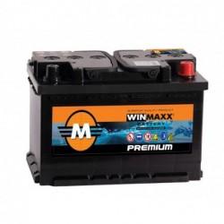 BAT WINMAX 12V 50AH/420A + A DROITE SANS ENTRETIEN