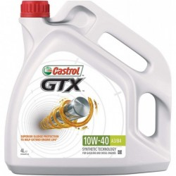 HUILE CASTROL GTX 10W40 A3/B4 HUILE SEMISYNTHESE 5L ESS/DIESEL